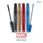 Preorder The Face Shop Marvel 2 in1 Curling Mascara 더페이스샵 2 in1 컬링 마스카라(마블) 15000won