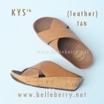 **พร้อมส่ง** รองเท้า FitFlop KYS (leather) : TAN : Size US 6 / EU 37