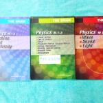 ►The Brain◄ PHY 30092 Set ฟิสิกส์ ม.ต้น 3 เล่ม
