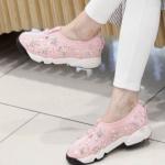 Pre Order / รองเท้าผ้าใบแฟชั่น นำเข้าจากเกาหลี