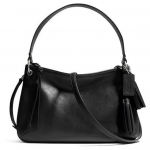 COACH LEGACY DOUBLE GUSSET CROSSBODY IN LEATHER # 26601 สี BLACK