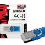 "Flash Drive 4GB ""Kingston"" ( DT101-G2 )"