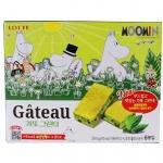 Pre Order / ขนมเกาหลี Green Tea Moomin มี 6 ชิ้น 114G