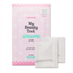 Preorder Etude My Beauty Tool Cotton Puff 80pcs 마이뷰티툴 일반 화장솜80p 1000won สำลีแผ่นบรรจุ 80 แผ่น