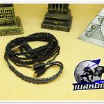 สายหูฟังเกรดพรีเมี่ยม Plug Shure (MMCX) (ดำ)