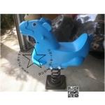 PP-toro08 สปริงโยกเยกม้าสีฟ้า