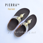 * NEW * FitFlop Pierra : Pale Gold : Size US 6 / EU 37
