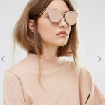 New Look Metal Bar Front Sunglasses