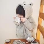 เสื้อกันหนาวมีฮูทหมีโคอาล่า