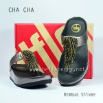 **พร้อมส่ง** FitFlop Cha Cha : Nimbus Silver : Size US 5 / EU 36