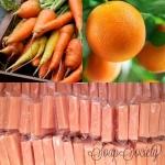 สบู่แครอทผสมส้มวิตามินิ C ขนาด 80g.