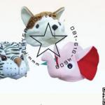 PS-7004 ชุด หมวกรูปสัตว์(3แบบ) ชุดที่ 1