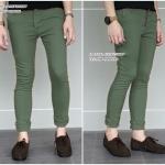 กางเกงขายาว ทรงเดฟ สีเขียว