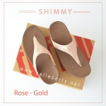 * NEW * FitFlop : Shimmy : Rose Gold : Size US 7 / EU 38