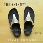 **พร้อมส่ง** FitFlop The Skinny : Silver : Size US 7 / EU 38