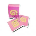TY-1228-1 บัตรตัวเลขกระดาษทราย ไทย