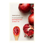 พร้อมส่ง INNISFREE IT'S REAL SQUEEZE MASK-POMEGRANATE 잇츠 리얼 스퀴즈 석류 마스크 950 won