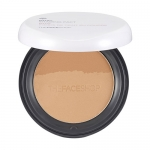 Thefaceshop Dual shading Pact #01 Beige Brown &Dark Brown