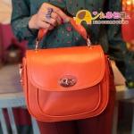 """""""พร้อมส่ง""""กระเป๋าแฟชั่นXiaoxiang กระเป๋าสไตล์Retro สีส้ม"""