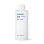 Preorder Innisfree Blueberry rebalancing skin 310ml 슈퍼푸드_ 블루베리 리밸런싱 스킨(대용량) 13000won ทนเนอร์อุดมด้วย Blueberry ที่จะช่วยปรับสภาพผิวให้มีความบาลานซ์ pH เป็นกลาง (ลดกรดด่างจากการล้างหน้า) เตรียมพร้อมสำหรับการบำรุงขั้นต่อไป และยังช่วยให้ผิวมีความชุ่มชื้น สะอ