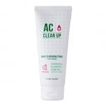 Preorder Etude AC cleanup Daily Cleanser 150ml AC 클린업 데일리 클렌징폼 8500won โฟมล้างหน้าที่ทำความสะอาดได้ล้ำลึกช่วยลดการเกิดสิว ลดความมันต้นเหตุของการเกิดสิว