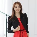 ++พร้อมส่ง++ เสื้อคลุมไซส์ใหญ่ สีดำ เอวลอย สาบเสื้อแต่งยัก 4XL