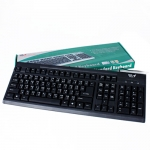 USB Keyboard MD-TECH (KB-666) Black