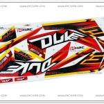 สติ๊กเกอร์ MSX-DUKE ปี 2015 สีแดง