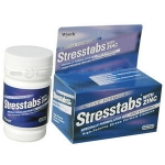 STRESSTABS600+ZINC 60 เม็ด วิตามินและเกลือแร่บำรุงร่างกาย ทำให้ไม่อ่อนเพลีย นอนหลับสบาย ลดความเครียดจากการทำงานหนัก