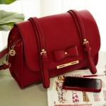 กระเป๋าแฟชั่น Axixi กระเป๋าสะพายน่ารัก สีแดง
