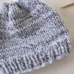 ถักหมวกง่ายๆ กับ ไม้นิตวงกลม หรือ ไม้นิตโค้ง (Circular Knitting Needle)