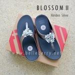 **พร้อมส่ง** FitFlop : BLOSSOM II : Nimbus Silver : Size US 6 / EU 37