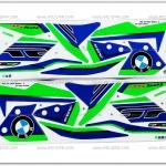 สติ๊กเกอร์ MSX-SF BM ปี 2016 รุ่น 2 ติดรถสีเขียว
