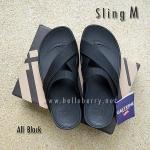 **พร้อมส่ง** FitFlop Sling M : All Black : Size US 10 / EU 43