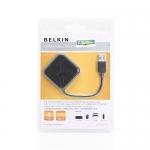 """USB HUB 4 Port """"BELKIN"""" ( Ultra mini )"""