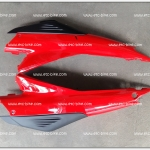 ฝาข้าง TENA-NEW สีแดง/ดำด้าน