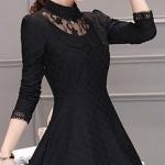 ชุดเดรสเกาหลีสีดำสวยๆ