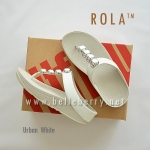 ** NEW ** FitFlop : ROLA : Urban White : Size US 5 / EU 36