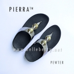 * NEW * FitFlop Pierra : Pewter : Size US 7 / EU 38