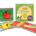 PBP-194 การ์ดสัมผัสผักผลไม้ 3 ภาษา