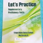 ►หนังสือโรงเรียนเตรียมอุดม◄ ENG 5221 หนังสือเรียนวิชาภาษาอังกฤษ ม.6 เตรียมตัวสอบเข้ามหาวิทยาลัย Let's Practise Supplementary Proficiency Tests ในหนังสือมีโจทย์ทั้งหมด 12 Tests ในแต่ละ Test จะทดสอบความรู้ด้านภาษาพูด คำศัพท์ สำนวน ไวยากรณ์ และความเข้าใ
