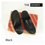 * NEW * FitFlop The Skinny : All Black : Size US 8 / EU 39