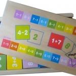 2SW-E688 เกมจับคู่บวก, ลบเลข (81 ชิ้น)