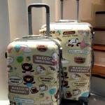 กระเป๋าล้อลากโพลี่คาบอนเนตเนื้อเงา 4 ล้อหมุน 360 ํ (ส่งฟรีพัสดุธรรมดา / ems. ใบละ 150 บ.)