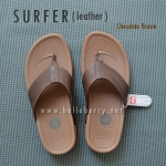 * NEW * FitFlop Men's : SURFER : Chocolate Brown : Size US 11 / EU 44