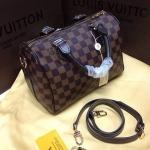 กระเป๋า Louis Vuitton ทรงหมอน มาใหม่ค่ะ งานสวย หนังเนี๊ยบ อะไหล่ปั้มทุกจุด Size 12 นิ้ว ลายตารางน้ำตาล