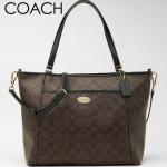COACH PEYTON SIGNATURE POCKET TOTE # 33998