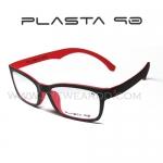 Plasta 90 รุ่น P1 สี ดำ-แดง