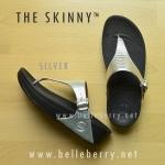 **พร้อมส่ง** FitFlop The Skinny : Silver : Size US 5 / EU 36