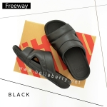 FitFlop : FREEWAY : Black : Size US 10 / EU 43